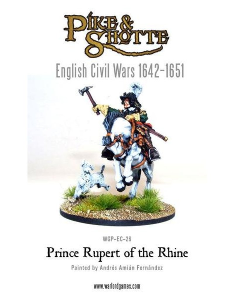 Warlord Games English Civil Wars 1642-1652 Prince Rupert Of The Rhine Pack