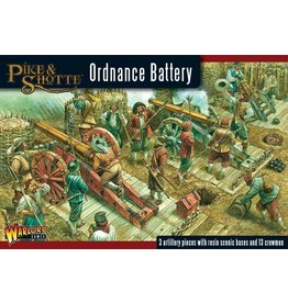 Warlord Games Pike & Shotte Ordnance Battery