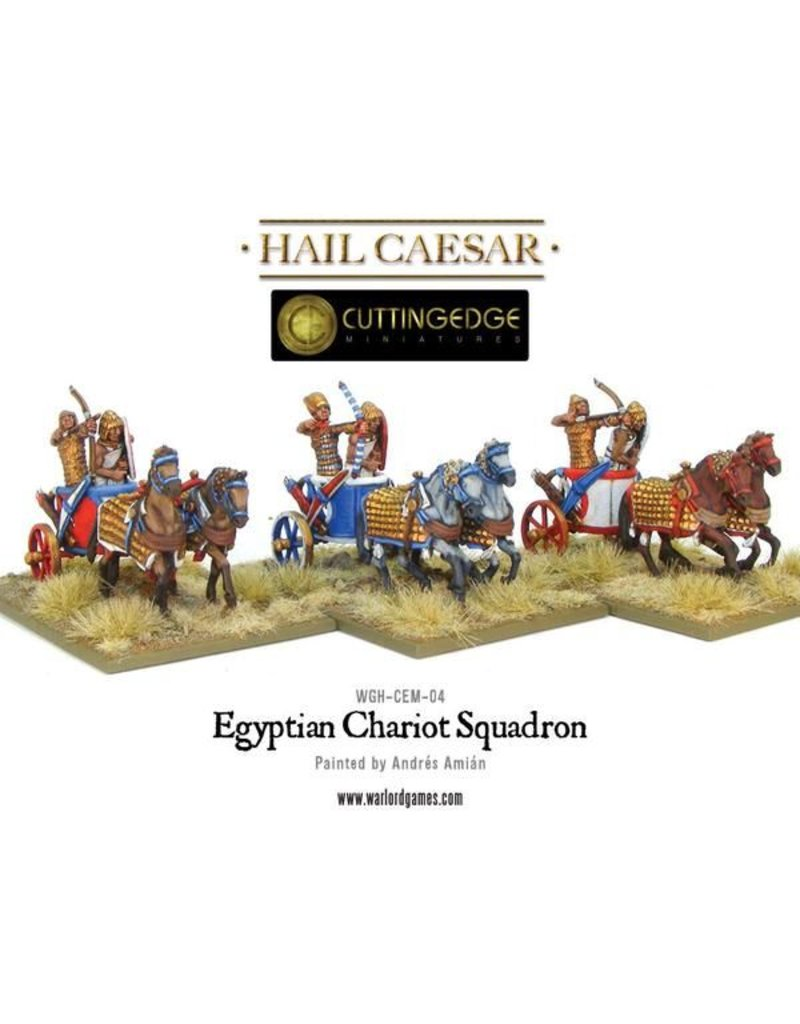 Warlord Games Bronze Age Egyptian Chariot Squadron Box Set