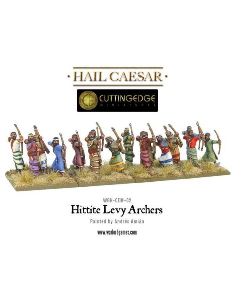 Warlord Games Bronze Age Hittite Levy Archers Box Set