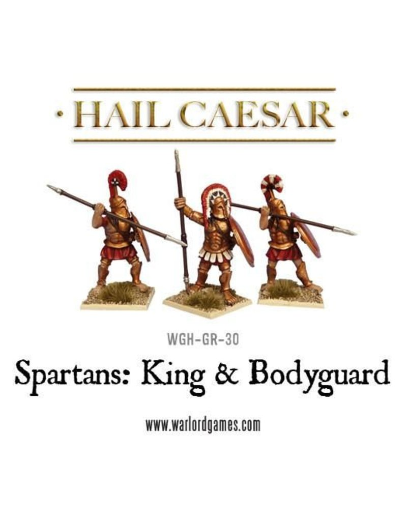Warlord Games Aegean States Spartan King & Bodyguard Pack