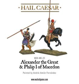 Warlord Games Alexander The Great & Philip I Of Macedon