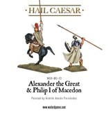 Warlord Games Aegean States Alexander The Great & Philip I Of Macedon Pack