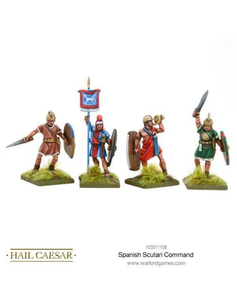 Warlord Games Hispania Spanish Scutarii Command Pack