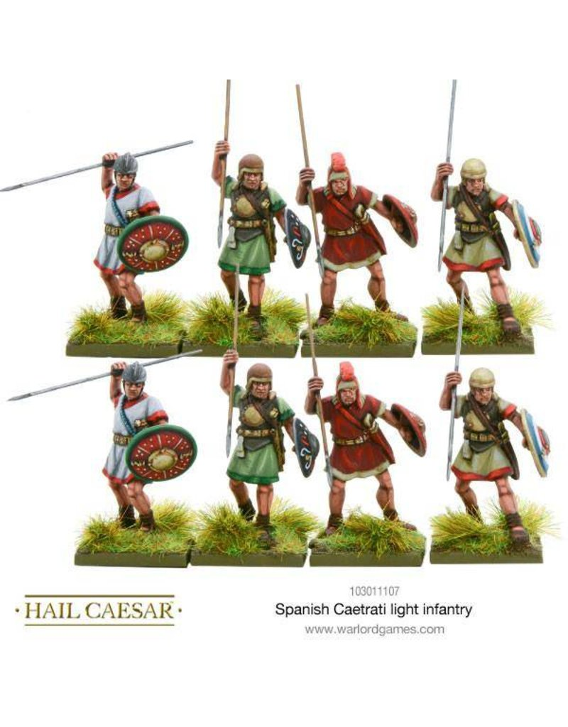 Warlord Games Hispania Spanish Caetrati Light Infantry Pack