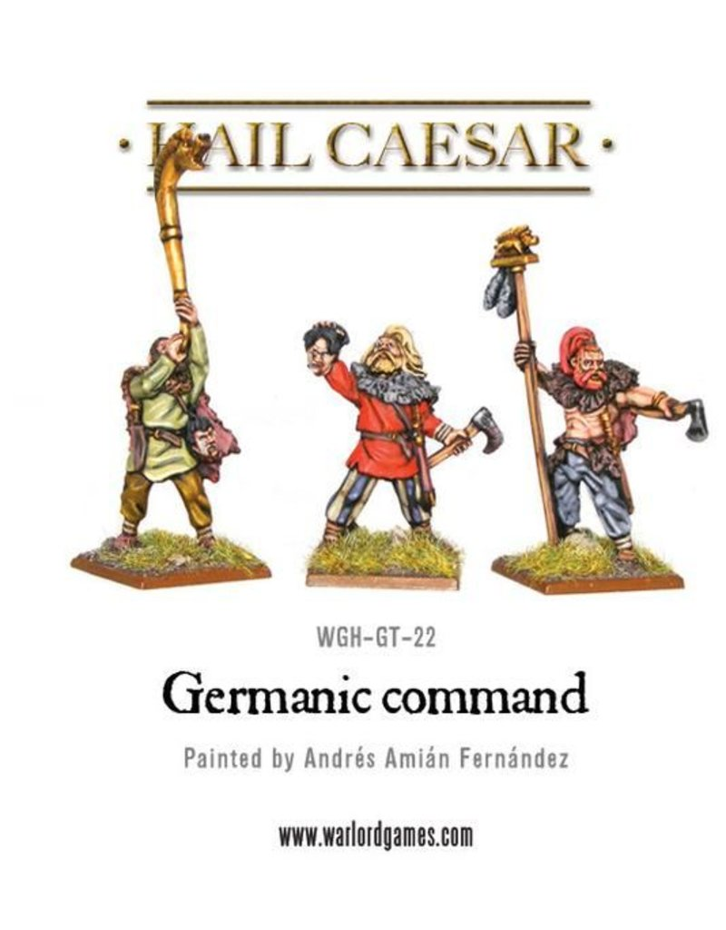 Warlord Games Enemies Of Rome Germanic Command Pack