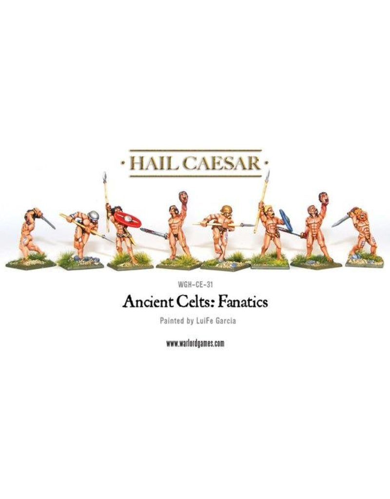 Warlord Games Enemies Of Rome Ancient Celts Naked Fanatics Pack