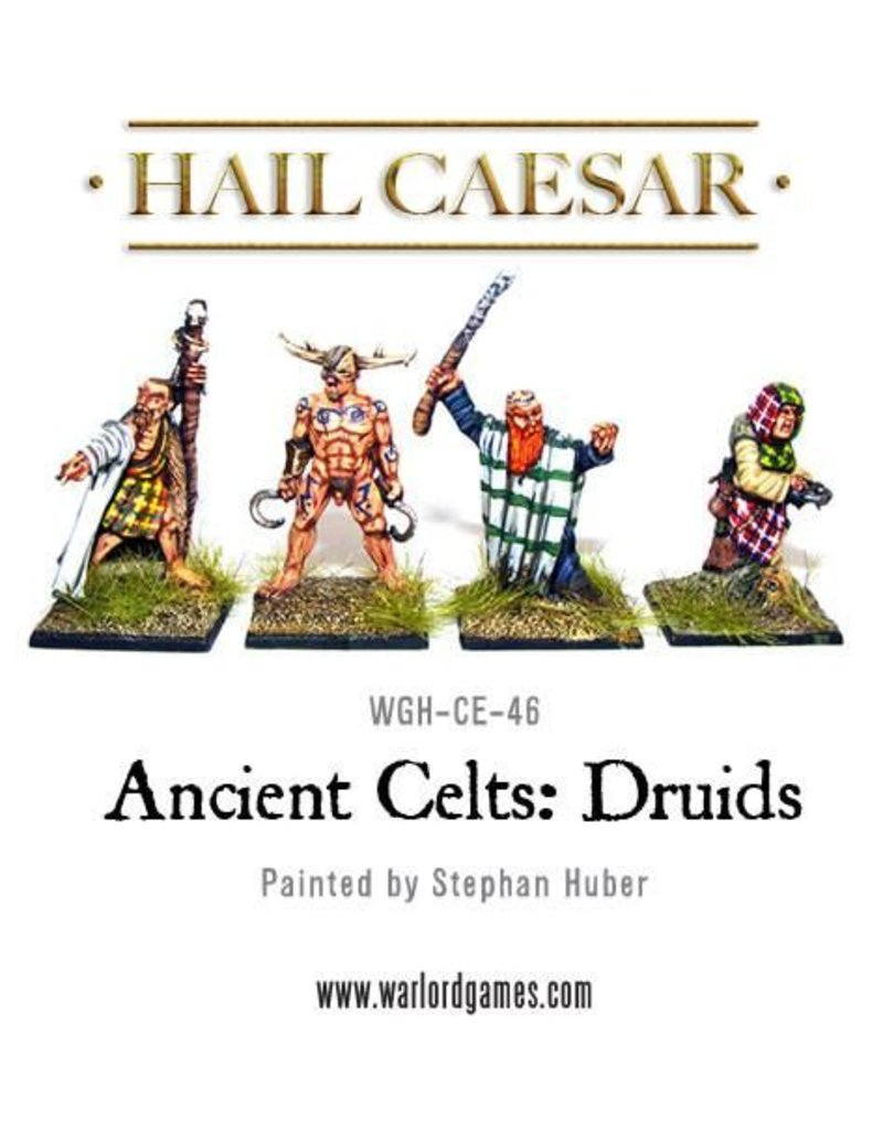 Warlord Games Enemies Of Rome Ancient Celt Druids Pack
