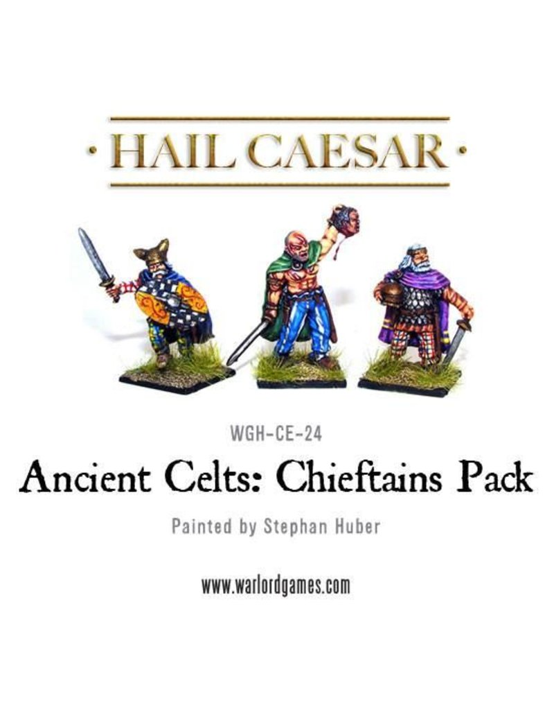 Warlord Games Enemies Of Rome Ancient Celt Chieftains Pack