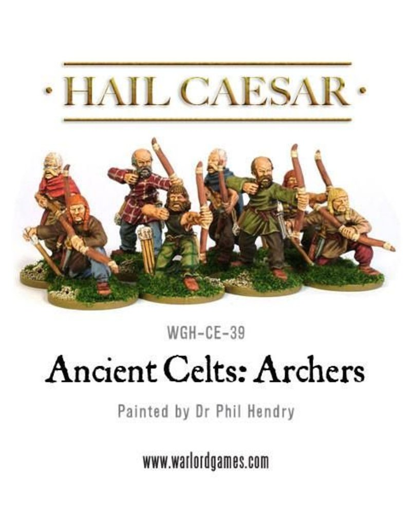 Warlord Games Enemies Of Rome Ancient Celt Archers Box Set