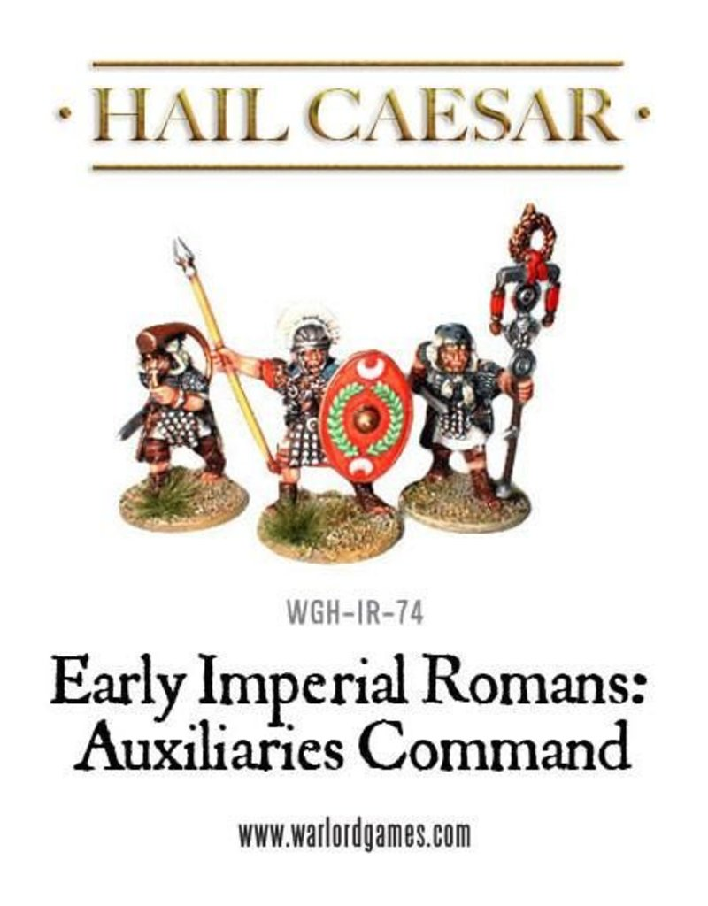 Warlord Games Early Imperial Roman Auxiliary Command Pack