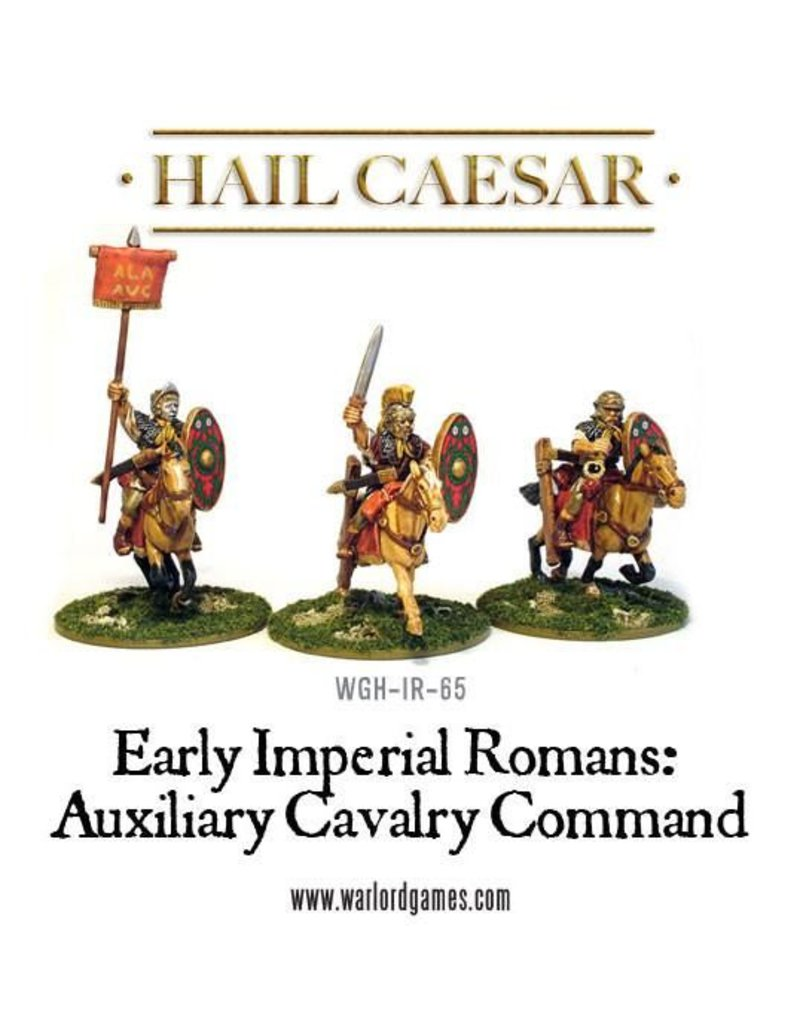 Warlord Games Early Imperial Roman Auxiliary Cavalry Command Pack