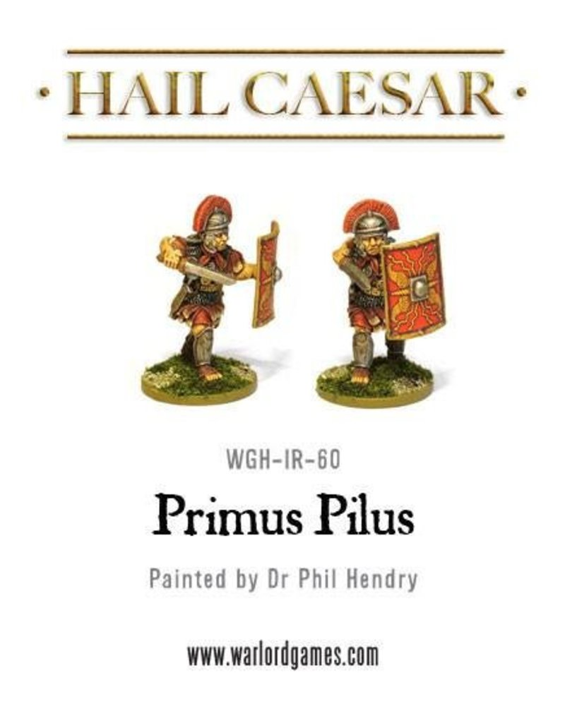 Warlord Games Early Imperial Roman Primus Pilus Pack