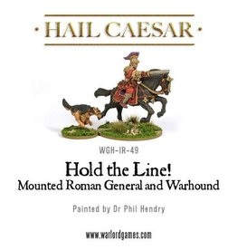 Warlord Games Early Imperial Mounted Roman General W/ Hound
