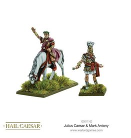 Warlord Games Julius Caesar & Mark Antony