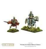 Warlord Games Caesarian Romans Pompey The Great & Marcus Crassus Pack