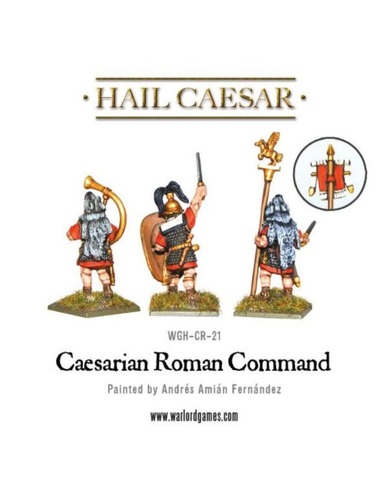 Warlord Games Caesarian Roman Command Pack