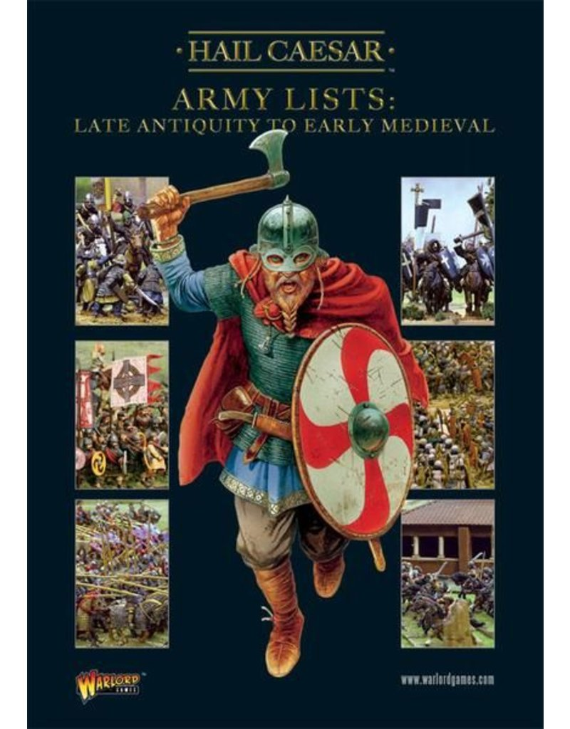 Warlord Games Army Lists Vol.2 - Late Antiquity To Early Medieval Supplement Book