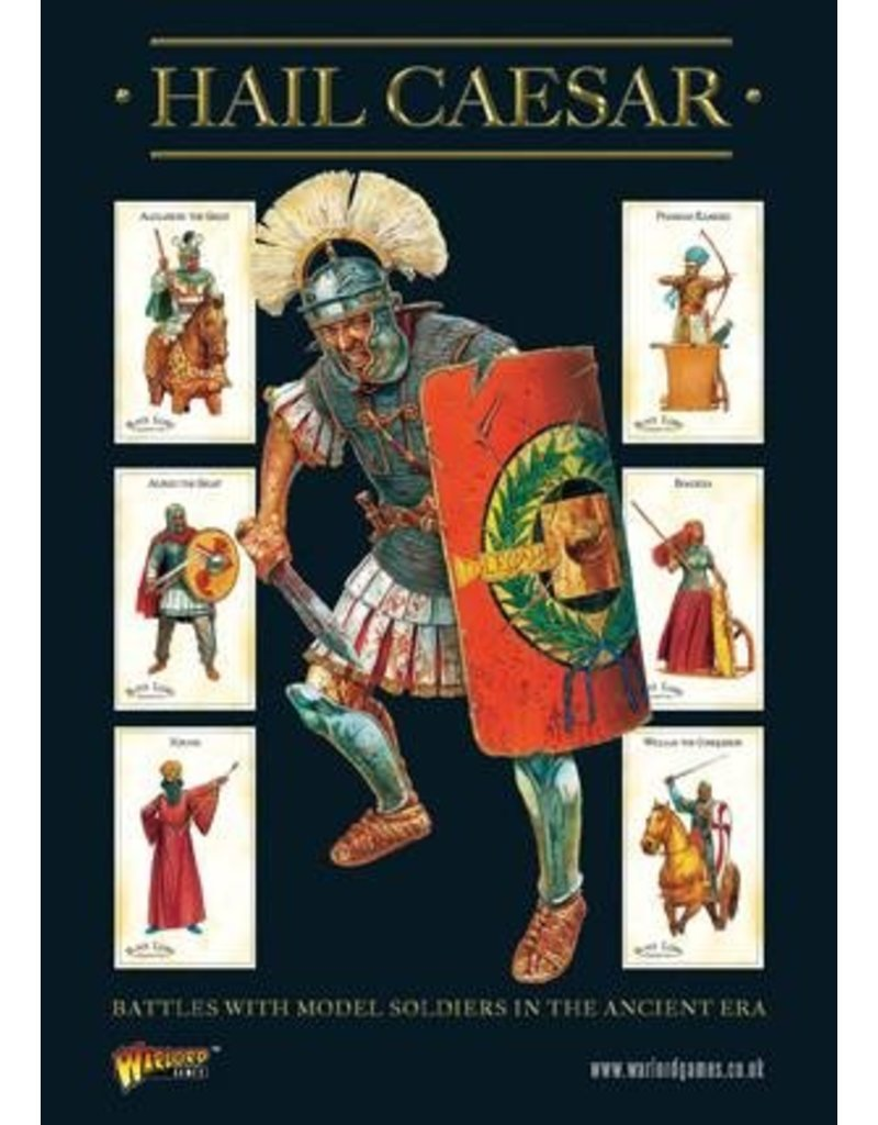Warlord Games Hail Caesar Historical Core Rulebook