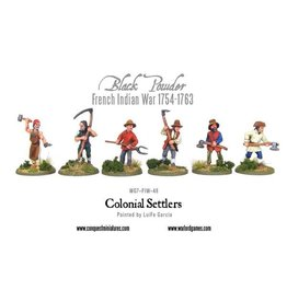 Warlord Games Colonial Settlers