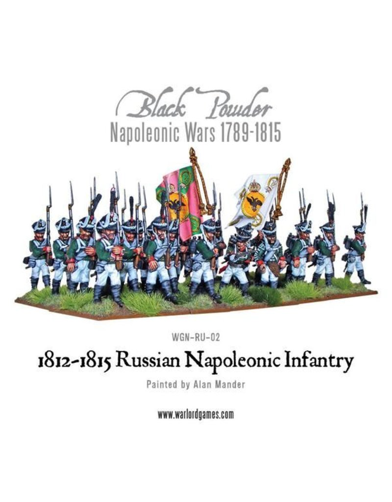 Warlord Games Napoleonic Wars 1789-1815 Late Russian Infantry (1812-1815) Box Set