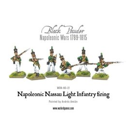 Warlord Games Nassau Light Infantry Firing