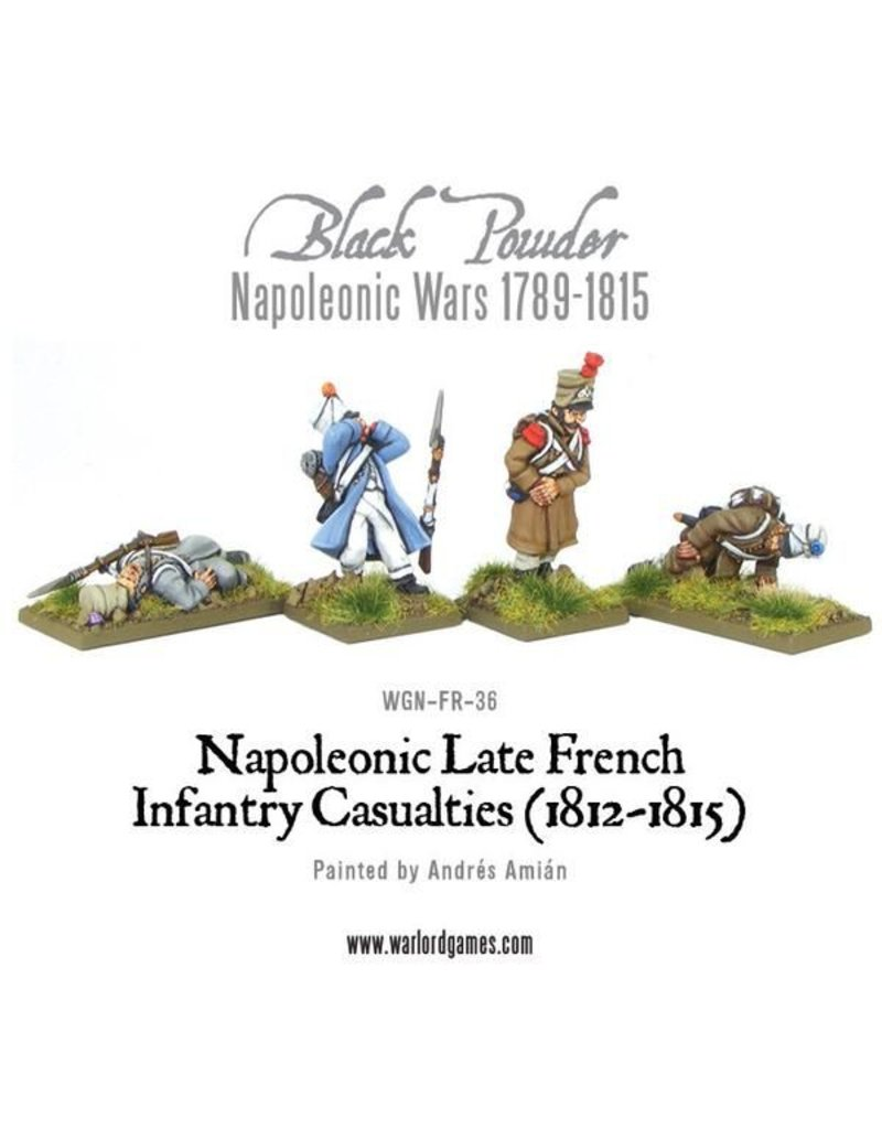 Warlord Games Napoleonic Wars 1789-1815 French Infantry Casualties (1812-1815) Pack