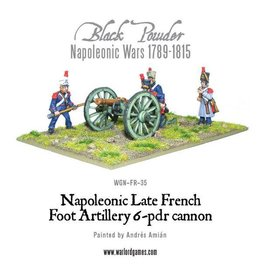 Warlord Games French 6 Pounder Foot Artillery