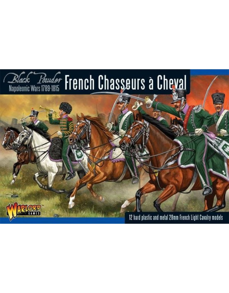 Warlord Games Napoleonic Wars 1789-1815 French Chasseurs A Cheval Light Cavalry Box Set