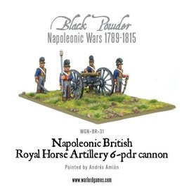 Warlord Games British Horse Artillery 6-Pdr Cannon