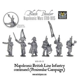 Warlord Games British Line Infantry Command (Peninsular)