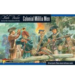 Warlord Games Colonial Militia Men