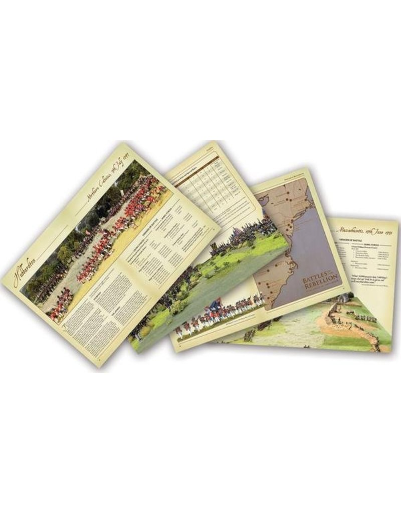 Warlord Games Rebellion! (American War Of Independence) Supplement Book