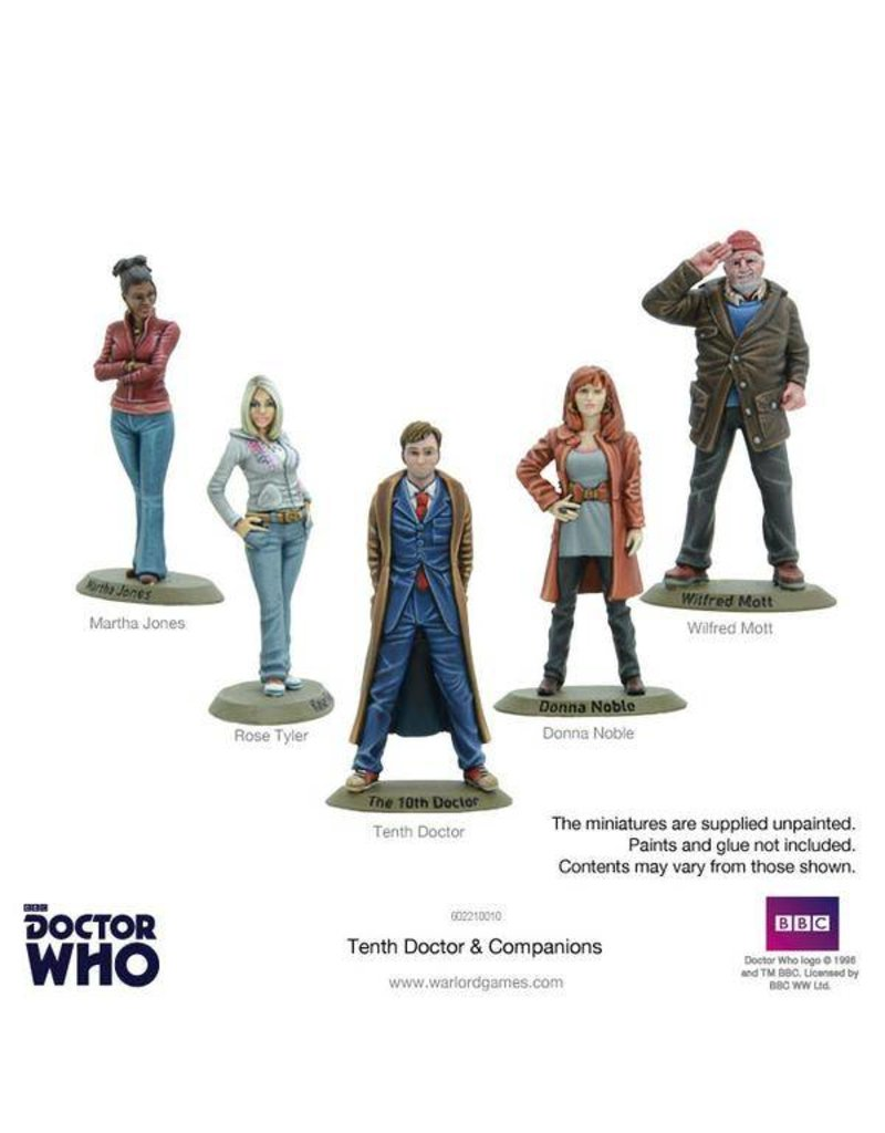 Warlord Games Doctor Who: 10th Doctor and Companions