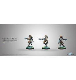 Corvus Belli Kosuil Assault Pioneers (K1 Combi Rifle)