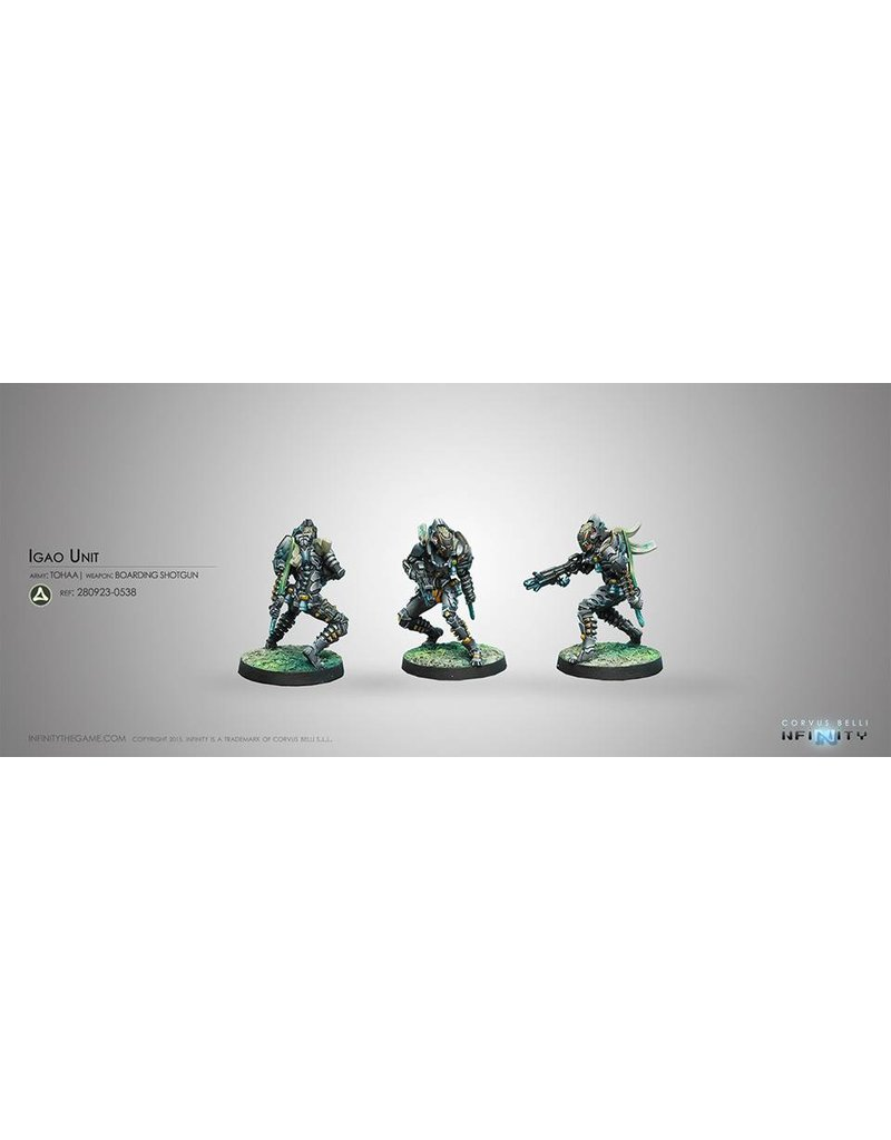 Corvus Belli Tohaa Igao Unit (Boarding Shotgun) Blister Pack