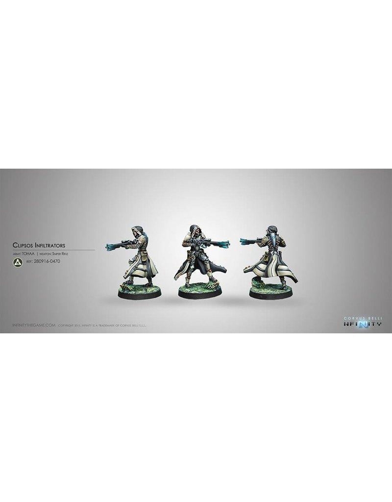 Corvus Belli Tohaa Clipsos Unit (Sniper) Blister Pack