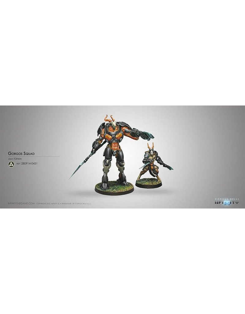 Corvus Belli Tohaa Gorgos Squad Box Set