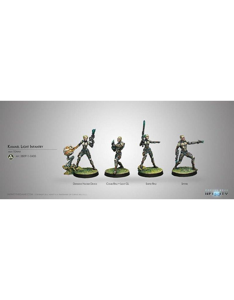 Corvus Belli Tohaa Kamael Light Infantry Box Set