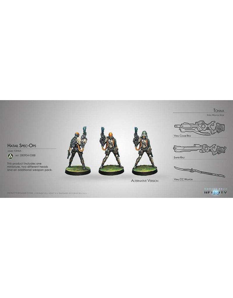 Corvus Belli Tohaa Hatail Spec-Ops Blister Pack
