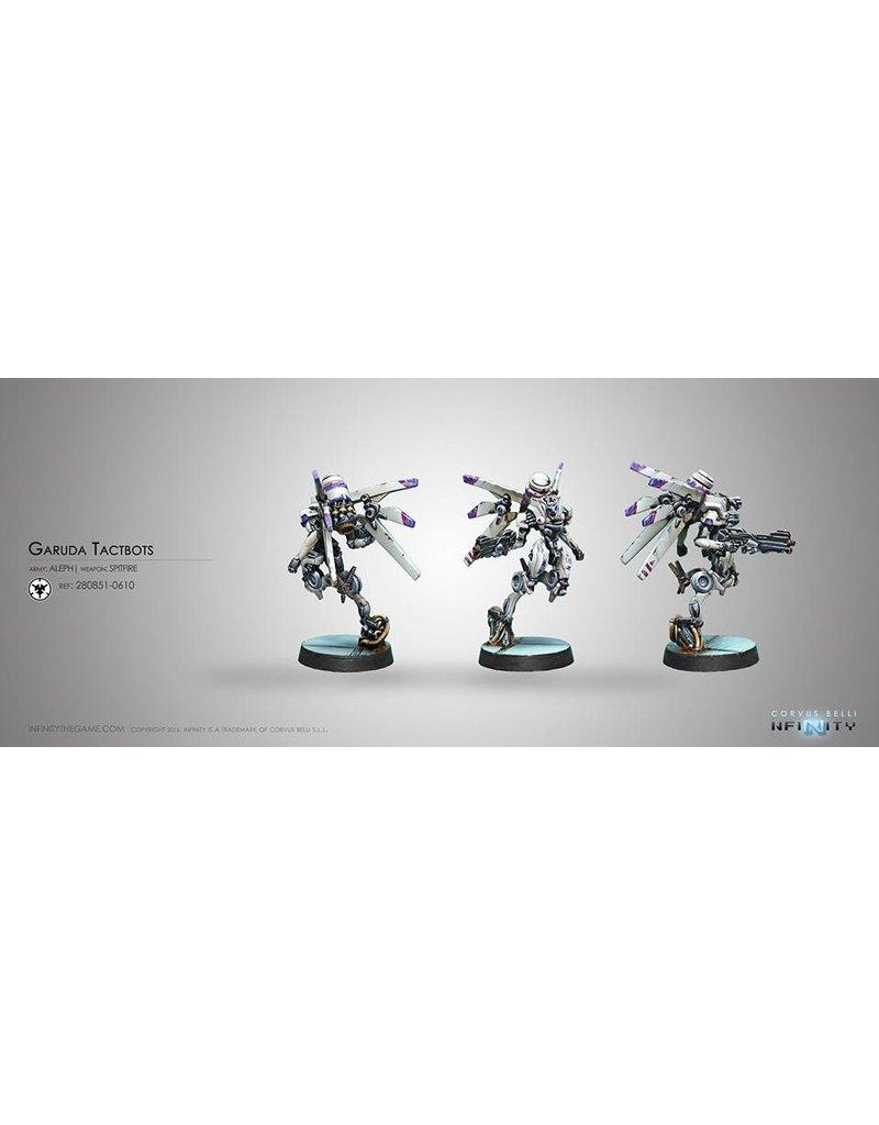 Corvus Belli Aleph Garuda Tactbots (Spitfire) Blister Pack