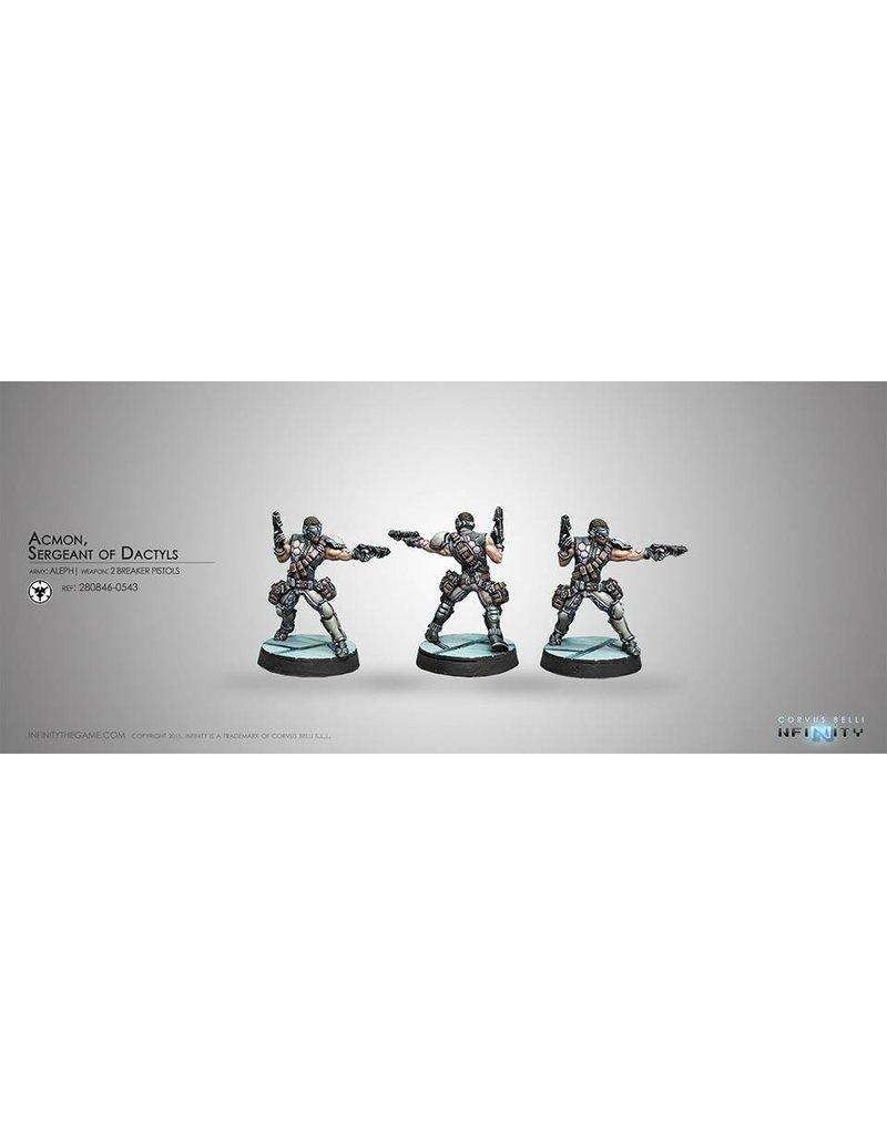 Corvus Belli Aleph Acmon,Sergeant of Dactyls (2 Breaker Pistols) Blister Pack