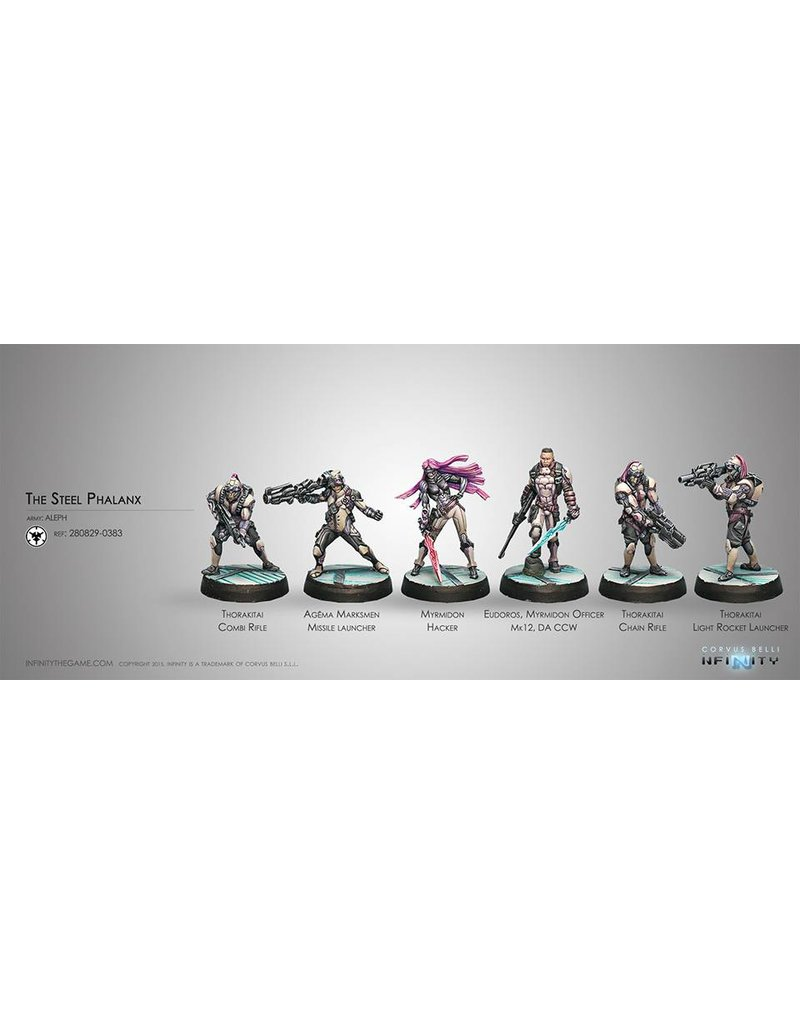 Corvus Belli Aleph The Steel Phalanx (Sectorial Starter Pack) Box Set