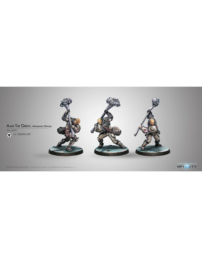 Corvus Belli Aleph Ajax the Great Blister Pack