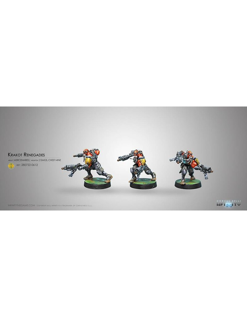 Corvus Belli Mercenaries Krakot Renegades Blister Pack