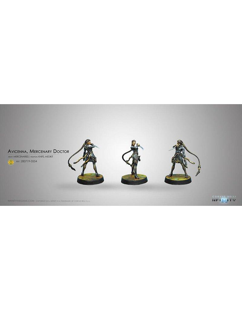 Corvus Belli Mercenaries Avicenna (Doctor) Blister Pack