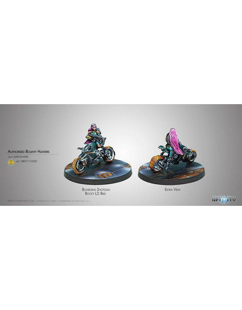 Corvus Belli Mercenaries Authorized Bounty Hunter (Boarding Shotgun, Booty L2: Bike) Box Set
