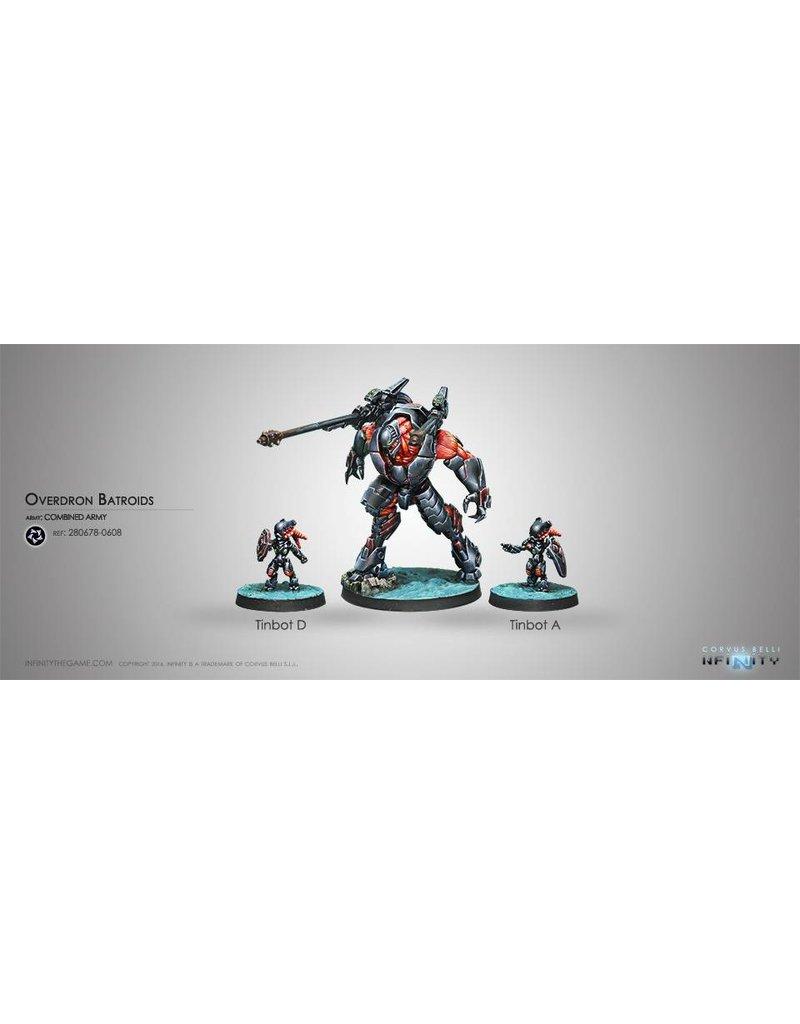Corvus Belli Combined Army Overdron Batroids Box Set