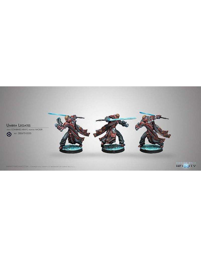 Corvus Belli Combined Army Umbra Legates (Boarding Shotgun) Blister Pack