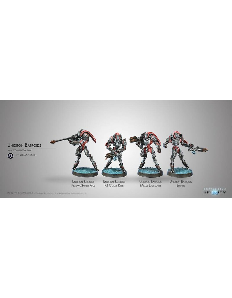 Corvus Belli Combined Army Unidron Batroids Box Set